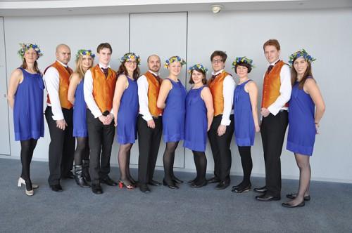 Swedish Delegation to SWY23 (2011): From left; Kassem Echehade, Catrin Wasberg, Carl Bradshaw, Åsa Danielsson, Raja Bahari, Karolina Leopoldsson, Malin Öhrman, Petter Falk, Anna Lind, K-G Eriksson, Carolina Hawranek.