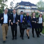 Per, K-G, Shahyan, Åsa, Anna and Anna of the SWYAA-Sweden are heading for new discoveries
