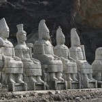 The statues of Nemrut Mountain in Turkey are considered as one of the New Seven Wonders of the World