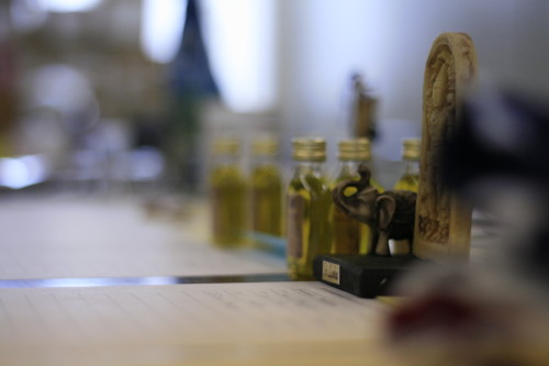 The Charity Auction featured a diversity of exotic items from all around the globe - including artisan made organic olive oil from Spain. Photo: Carolina Hawranek